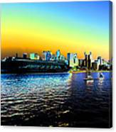 Sydney In Color Canvas Print