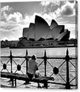 Sydney Love Affair Canvas Print