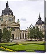 Szechenyli Baths - Budapest Canvas Print