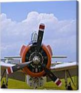 T-28 Nose Canvas Print