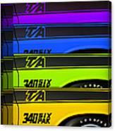 T/a 340 Six Pak Canvas Print
