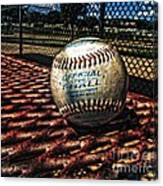 T-ball Canvas Print