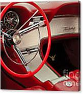 T-bird Interior Canvas Print