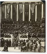 T. Roosevelt Inauguration Canvas Print