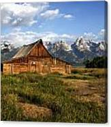 T.a. Moulton Barn Canvas Print