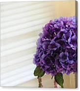 Tabletop Bloom Canvas Print