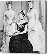 Taft Family, 1884 Canvas Print