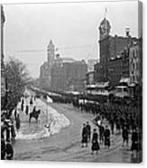 Taft Inauguration, 1909 Canvas Print