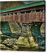 Taftsville Covered Brdidge Canvas Print