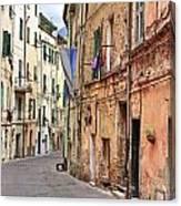Taggia In Liguria Canvas Print
