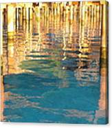 Tahitian Reflection Canvas Print