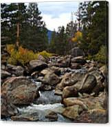 Tahoe Creek Canvas Print