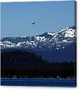 Tahoe Parasailing Canvas Print