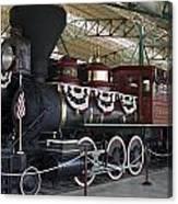 Tahoe Steam Locomotive Canvas Print