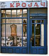 Tailor For Both Sexes. Belgrade. Serbia Canvas Print