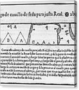 Tailors Pattern Book, 1589 Canvas Print