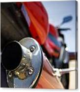 Tailpipe Canvas Print