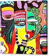 Talavera Dancers Canvas Print