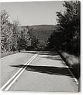 Talimena Roads I Canvas Print