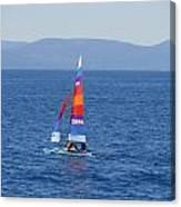 Tall Sail Canvas Print