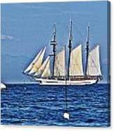 Tall Ship Blues Canvas Print