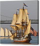Tall Ship Five Canvas Print