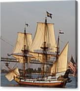 Tall Ship Four Canvas Print