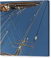 Tall Ship Rigging 1 Canvas Print