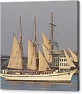 Tall Ship Seven Canvas Print