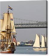 Tall Ship Six Canvas Print