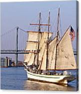 Tall Ship Three Canvas Print