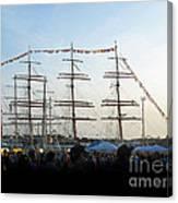 Tall Ships 2009. Klaipeda. Lithuania Canvas Print
