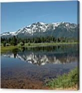 Tallac Reflections Canvas Print