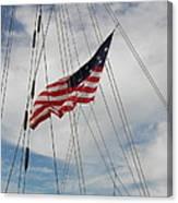 Tallship Flag Canvas Print