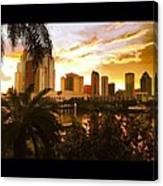 Tampa Bay Fl Canvas Print