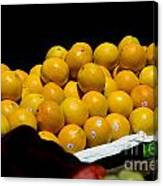 Tangerines For Sale Canvas Print
