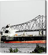 Tanker Baton Rouge Canvas Print