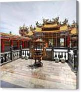 Taoist Temple 2 Canvas Print