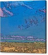 Taos Abstract Canvas Print
