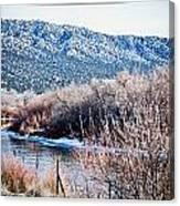 Taos Creek Canvas Print