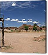Taos Pueblo New Mexico Canvas Print