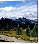 Tatoosh Range Canvas Print