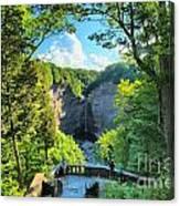 Taughannock Falls Overlook Canvas Print