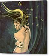 Taurus From Zodiac Series Canvas Print