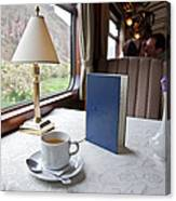 Tea Is Served By Peru Rail On The Way Canvas Print