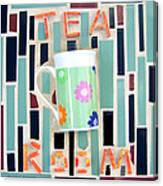 Tea Room Canvas Print