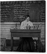 Teachers Rules  Canvas Print