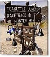 Teakettle Junction Canvas Print