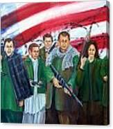 Tealibanization Of The Usa Canvas Print