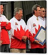 Team Canada 1 Canvas Print